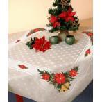 Wzór graficzny - Obrus świąteczny - B. Sikora-Małyjurek - Haft krzyżykowy