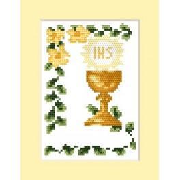 GC 4602-02 Wzór graficzny - Zaproszenie komunijne