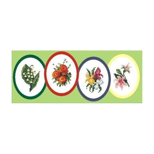 Wzór graficzny - Wielkanocne dekoracje - Haft krzyżykowy
