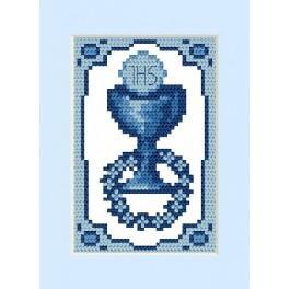 GC 4658-01 Wzór graficzny - Kartka komunijna