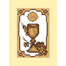 GC 4658-02 Wzór graficzny - Kartka komunijna