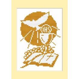GU 4442 Wzór graficzny - Kartka komunijna