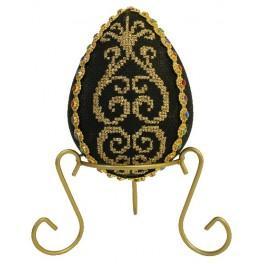Wzór graficzny - Jajo z arabeską - Haft krzyżykowy