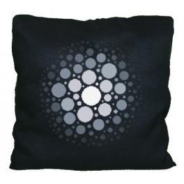 Wzór graficzny - Poduszka - Galaktyczne formy - Haft krzyżykowy