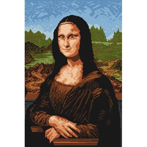 W 700 Wzór graficzny ONLINE pdf - Mona Lisa - Leonardo da Vinci