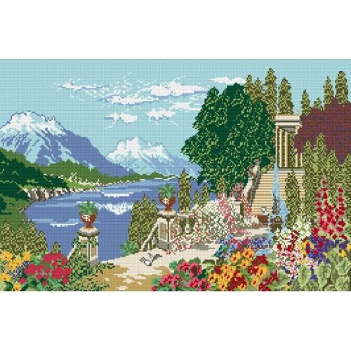 Wzór graficzny online - Rajski ogród