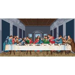 W 727 Wzór graficzny online - Ostatnia Wieczerza - L. da Vinci