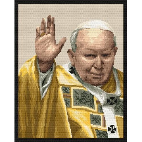 Wzór graficzny online - Papież Jan Paweł II