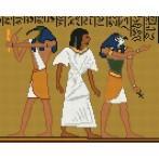 W 803 Wzór graficzny online - Motyw egipski