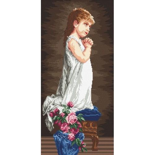 Wzór graficzny online - Modlitwa dziewczynki