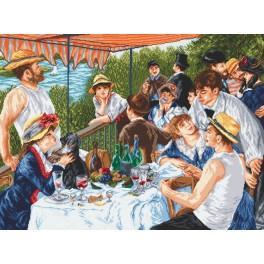 W 8039 Wzór graficzny online - Śniadanie wioślarzy - A. Renoir