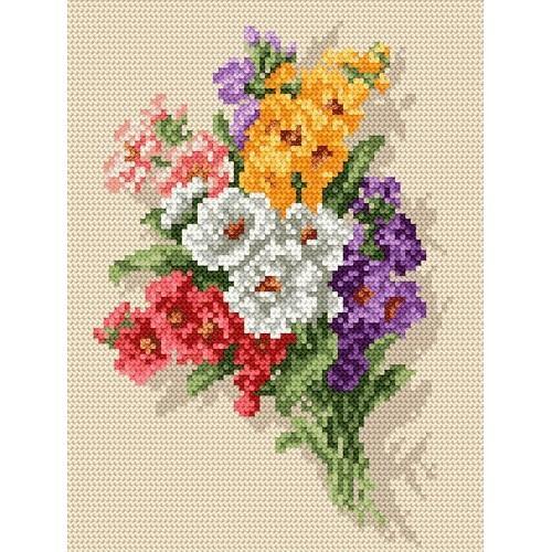 Wzór graficzny online - Letnie kwiaty