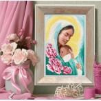 Wzór graficzny online - Maryja z dzieciątkiem