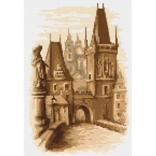 Wzór graficzny online - Most Karola - Praga