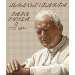 Wzór graficzny online - Jan Paweł II - Kanonizacja