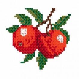 Wzór graficzny online - Jabłka