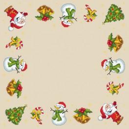 Wzór graficzny online - Serwetka świąteczna