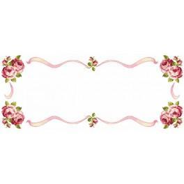 Wzór graficzny online - Bieżnik z różami