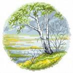 Wzór graficzny online - Cztery pory roku - wiosna