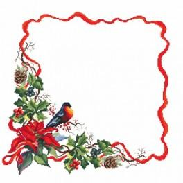 Wzór graficzny online - Serwetka - świąteczny wieczór