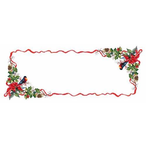 Wzór graficzny online - Bieżnik - świąteczny wieczór