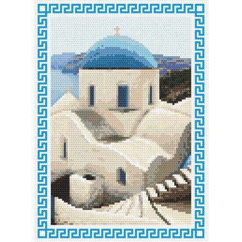 Wzór graficzny online - Wspomnienia z wakacji - Grecja