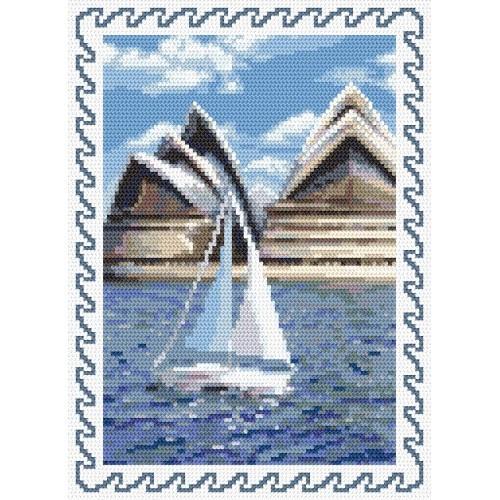 Wzór graficzny online - Wspomnienia z wakacji - Australia