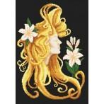 Wzór graficzny online - Lato we włosach