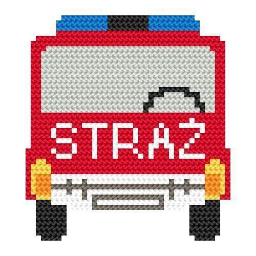 Wzór graficzny online - Straż pożarna
