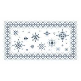 Wzór graficzny online - Serwetka z gwiazdkami