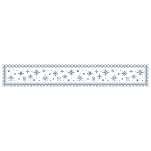 Wzór graficzny online - Bieżnik z gwiazdkami