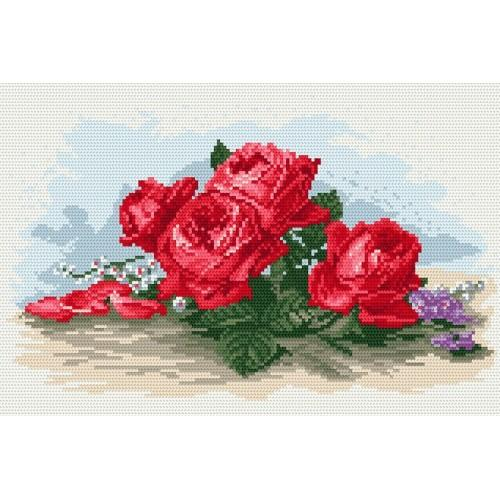 Wzór graficzny online - Róże