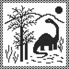 Wzór graficzny online - Dino