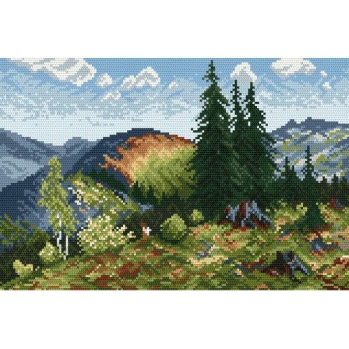 Wzór graficzny online - Lato w Tatrach