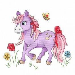 W 8671 Wzór graficzny online - Kucyk Lily