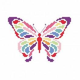 Wzór graficzny online - Motylek