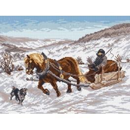 W 875 Wzór graficzny online - W zimie