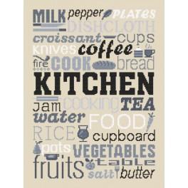 Wzór graficzny online - Kitchen