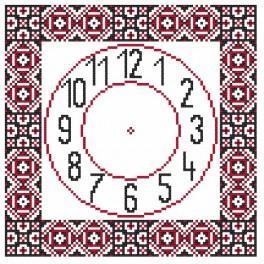 W 8857 Wzór graficzny online - Zegar etniczny II