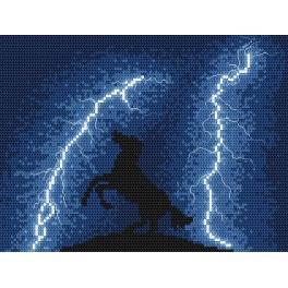 Wzór graficzny online - Ucieczka przed burzą