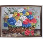 Wzór graficzny online - Polne kwiaty