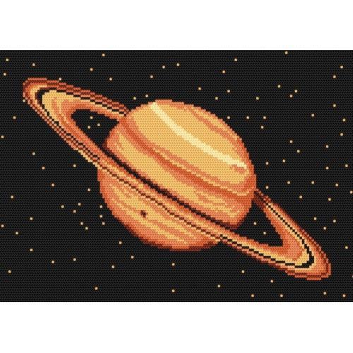 Kanwa z nadrukiem - Saturn