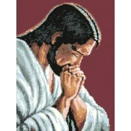 Kanwa z nadrukiem - Jezus