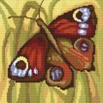 4047 Kanwa z nadrukiem - Rusałka pawik - A.Śliwa-Klara