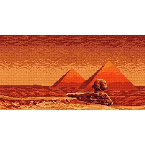Kanwa z nadrukiem - Czar Egiptu