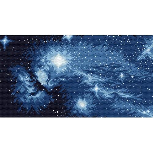 Kanwa z nadrukiem - W kosmosie
