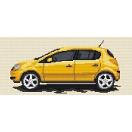 Kanwa z nadrukiem - Opel Corsa