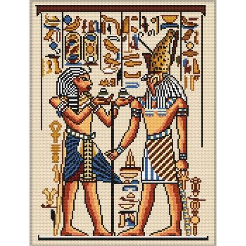 Kanwa z nadrukiem - Leczenie faraona