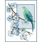 Kanwa z nadrukiem - B. Sikora - Błękitny marzyciel
