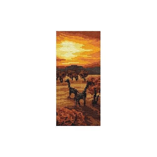 Kanwa z nadrukiem - Zachód słońca